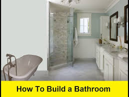 Www Bathroom | how to build a bathroom youtube