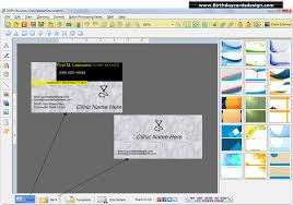 Business Card Creator Software Free Download Visiting Card Design Maker Backstorysports Com