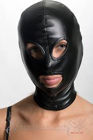leather mask restraints gimp mask