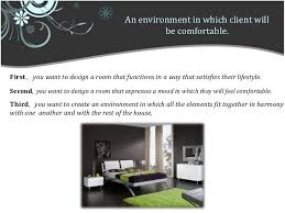 i want to be an interior designer dealing with client a relationship between client and interior desi