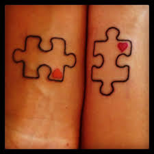 simple puzzle tattoo tattoomagz