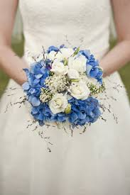wedding flowers blue and white moroccan wedding bouquet wedding flower