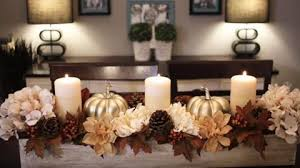 she makes this exquisite fall centerpiece with dollar store items