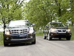 lexus crossovers king of the crossovers cadillac srx vs lexus rx350