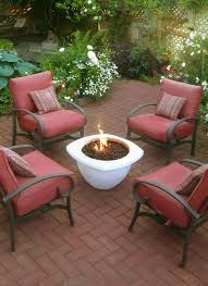 Outdoor Furniture With Fire Pit by Fire Pits U0026 Fire Tables Offer Design Choices Puremodern