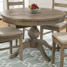 Pine Dining Room Set Jofran 941 66 Slater Mill Pine Reclaimed Pine Round To Oval Dining