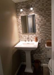 bathroom accents ideas glass tile accent wall in bathroom for the home