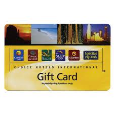 hotel gift card rewards
