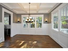 Chair Rail Ideas For Dining Room Dining Room Chair Rail And Window Frame Paint Colors
