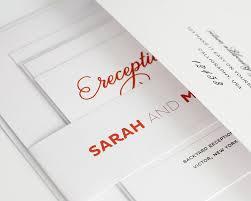 Simple Wedding Invitation Card Designs Modern Red Wedding Invitations U2013 Wedding Invitations