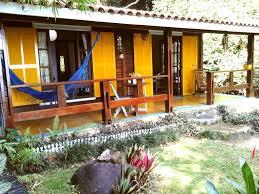 Cuisine Dans Veranda Casa Das Flores Home Overlooking The Homeaway Angra Dos Reis