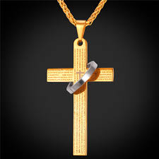 online get cheap mens gold religious jewelry aliexpress com