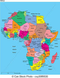 africa map with country names and capitals europe with editable countries names europe regional map