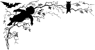 halloween silhouette image quirky the graphics fairy