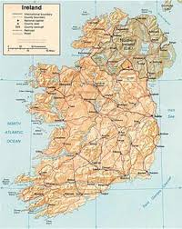 printable road maps map of northern ireland and ireland