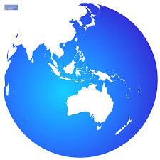World Globe Map Maps World Within Australia Globe Map Evenakliyat Biz