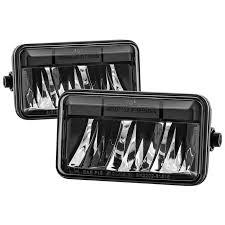 2015 f150 led fog lights spyder f150 2015 2017 led fog lights black 645 5083975 free