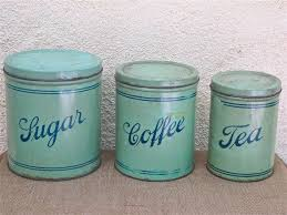 vintage metal kitchen canister sets 79 best flour suger spice images on spice jars