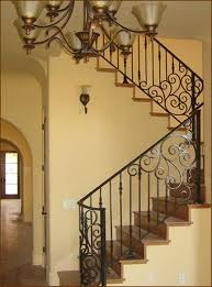 Wrought Iron Banister Stairs Glamorous Rod Iron Staircase Surprising Rod Iron
