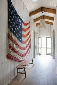 American Flag House New Uses For Old Things The American Flag Is The Consummate