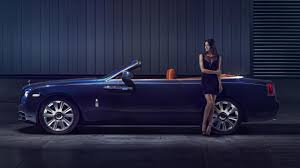 rolls royce roof exclusive wallpapers posing with the new rolls royce dawn top gear