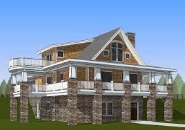 wraparound porch plan 18287be exclusive adorable cottage with wraparound porch