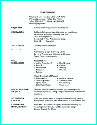 architectural resume for internship pdf creator in the data architect resume one must describe the professional