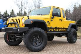 jeep wrangler 2 door modified jeep wrangler jk 8 independence pickup truck kit photo gallery