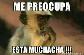 Funny Spanish Meme - jaja el trauma es severo meme risa español chango para reírme