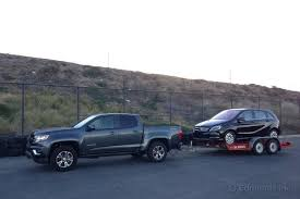 dodge ram v6 towing capacity towing impressions 2015 chevrolet colorado term road test