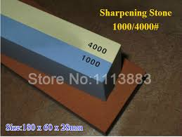 sharpening stones for kitchen knives janpanese sapphire 1000 4000 grit faced water