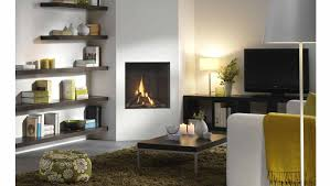 White Electric Fireplace With Bookcase by Stone Fireplace Among White Wooden Bookshelf And Cabinet Storage