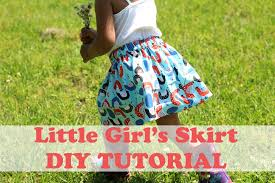 how to make a simple u0027s skirt beginner sewing youtube