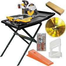 Dewalt Tile Saw Stand Blade Rls Kit Contractors Direct