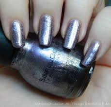 sinful colors mirror metallics nail polish swatches in triple