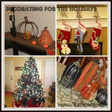 decorating from fall to christmas