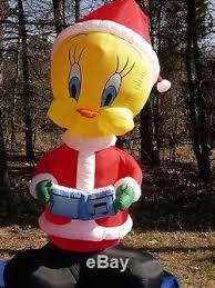 gemmy 8 lighted looney tunes tweety bird airblown