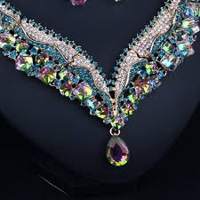 crystal shaped necklace images Crystal necklace jpg