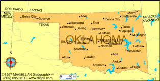 Map Of Oklahoma State by Oklahoma By Colten Stevens