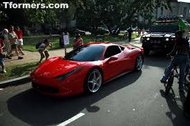 ferrari transformer name of ferrari in transformers 3 dark of the moon revealed
