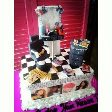 beauty salon birthday cake pictures to pin on pinterest pinsdaddy