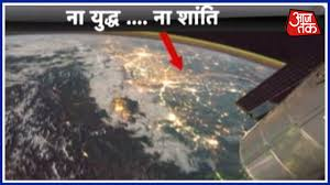 India Satellite Map by Dastak Satellite Images Show How The Border Between India And