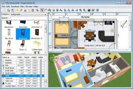 home interior design software free sweet home 3d free interior design software for windows