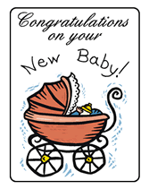 congrats on your new card printable congratulations on your new baby greeting cards
