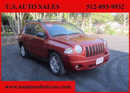 jeep compass 2008 for sale 2008 jeep compass sport in tx us auto sales
