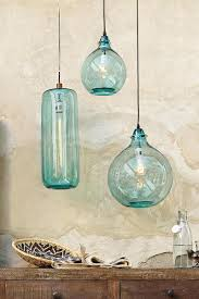 aqua glass pendant light wonderful aqua glass pendant light pertaining to current home way