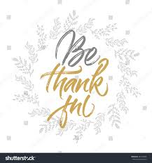 thanksgiving greeting card be thankful stock vector 481435096