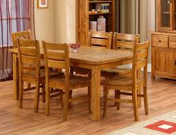 Wooden Dining Room Furniture Fascinating Wooden Dining Table Designs For Warm Atmosphere In The