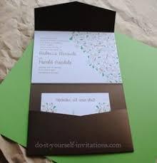 Do It Yourself Wedding Invitations The 25 Best Diy Wedding Invitations Templates Ideas On Pinterest