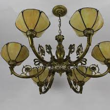 light tiffany glass shade antique french chandeliers for sale